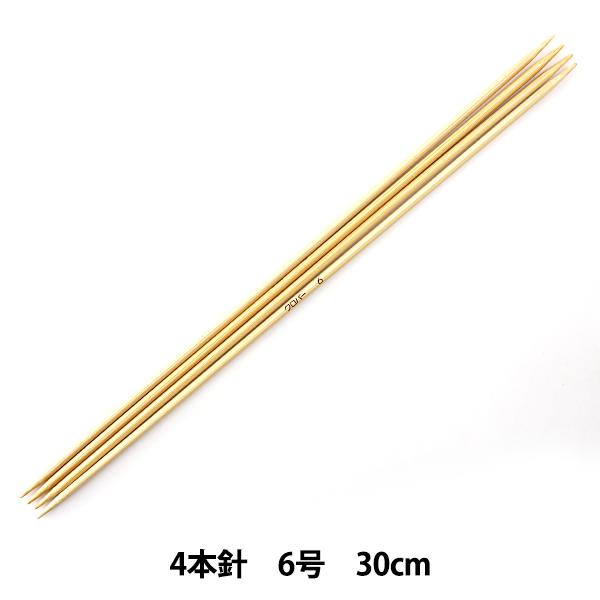 定番のクロバーの安心アイテムです 超激安 編み針 匠 4本針30cm 永遠の定番モデル 54-406 Clover 6号 クロバー