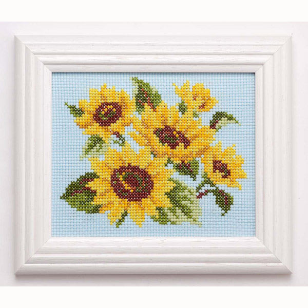 ★ Russian embroidery kits cross stitch Embroidery kits flower calendar gift 8 / free alternative / 7828 [embroidery kits / cross stitch / flower /COSMO]