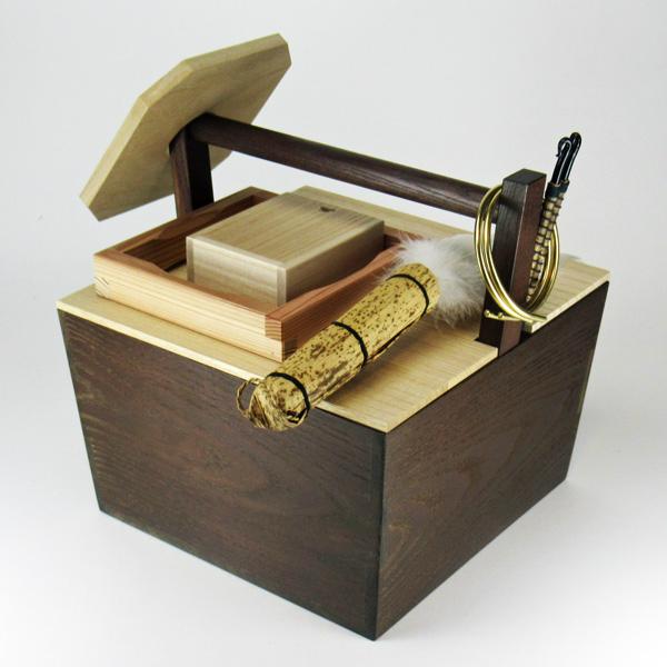 箱炭斗8点セット 紙箱