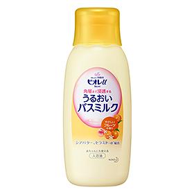 限定タイムセール 3 980円以上お買い上げで送料無料 ビオレu 角層まで浸透する 特価 うるおいバスミルク 本体 600ml 入浴剤 花王 やさしいフルーツの香り