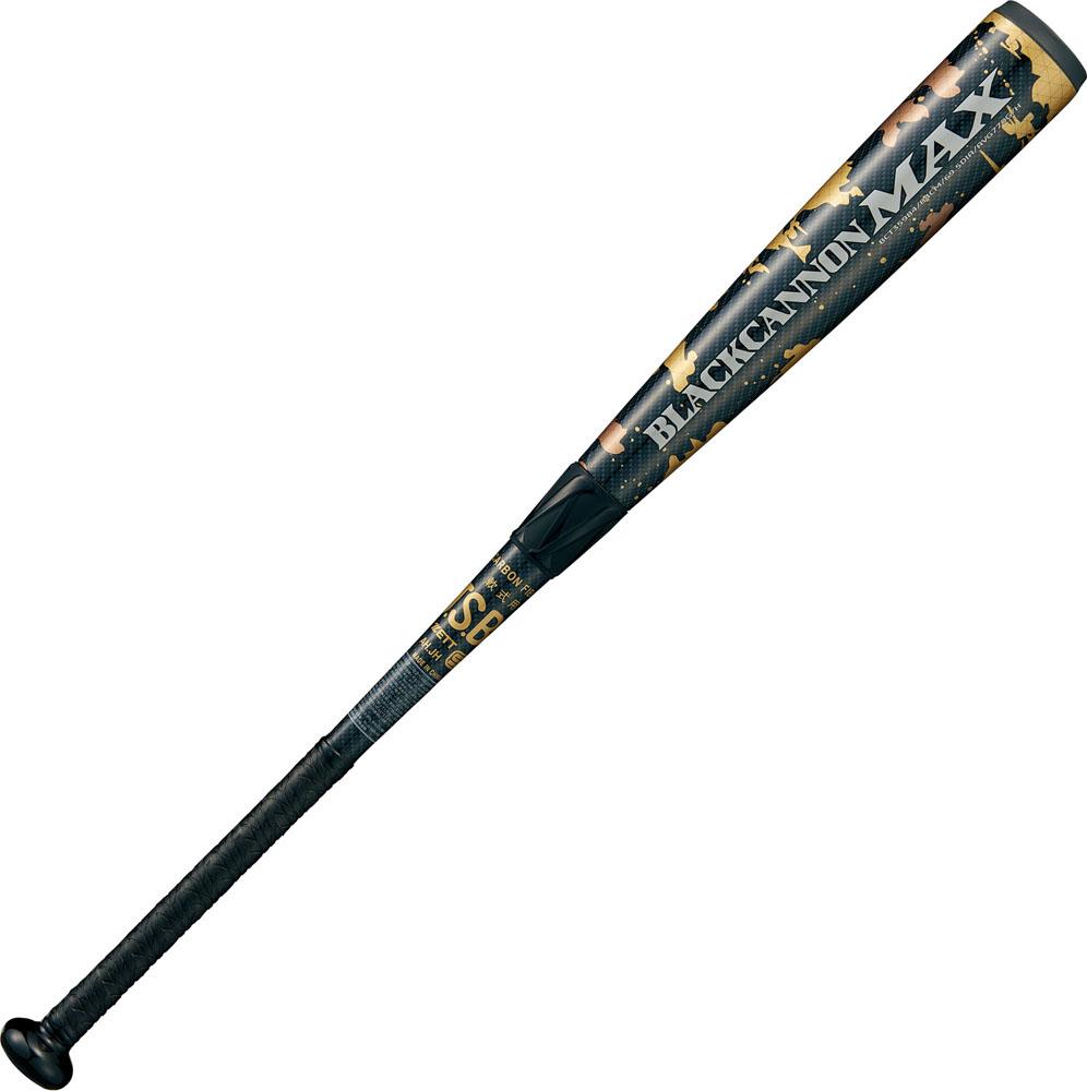 ゼット野球用品 Zett 一般軟式FRP製バット BLACKCANNON MAX(ブラックキャノン マックス) BCT35984 ブラック ヤキュウソフト ヤキュウ バット