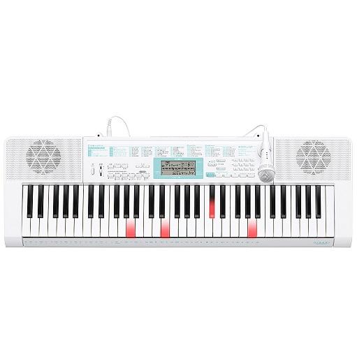 CASIO 61鍵盤 電子キーボード 光ナビゲーション マイク端子付き LK-128 【送料無料(沖縄県を除く)】