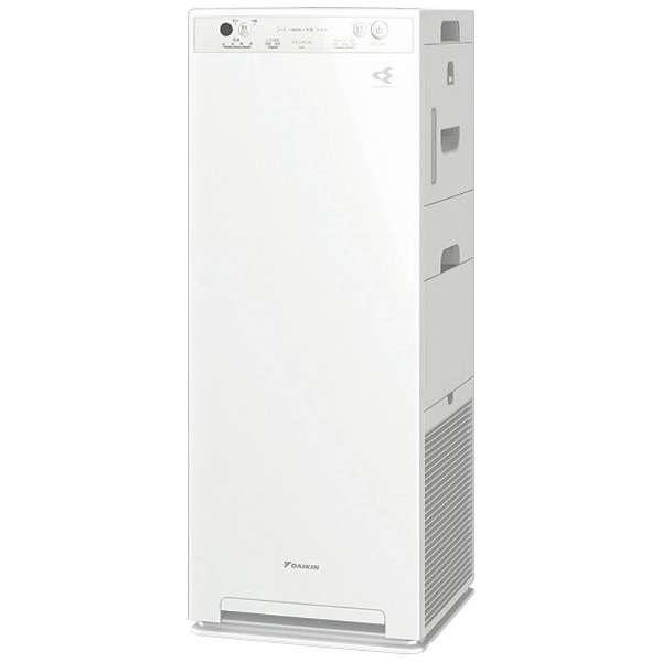 ダイキン 加湿ストリーマ空気清浄機 適用畳数19畳まで 加湿11畳まで PM2.5対応 MCK40U-W ホワイト 【送料無料(沖縄県を除く)】
