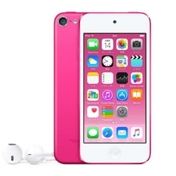 アップル Apple iPod touch 第6世代 2015年モデル 32GB ピンク MKHQ2J/A