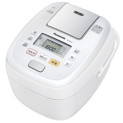 パナソニック 可変圧力IHジャー炊飯器 5.5合 SR-PB107-W ホワイト 【送料無料(沖縄県を除く)】