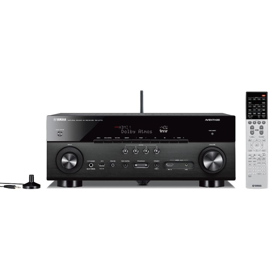 YAMAHA ヤマハ AVレシーバー RX-A770(B) ブラック AVENTAGE 7.1ch Dolby Atmos DTS:X 対応