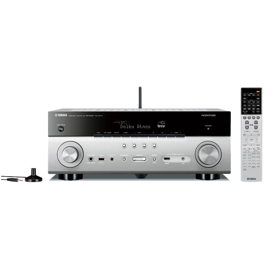 YAMAHA ヤマハ AVレシーバー RX-A770(H) チタン AVENTAGE 7.1ch Dolby Atmos DTS:X 対応