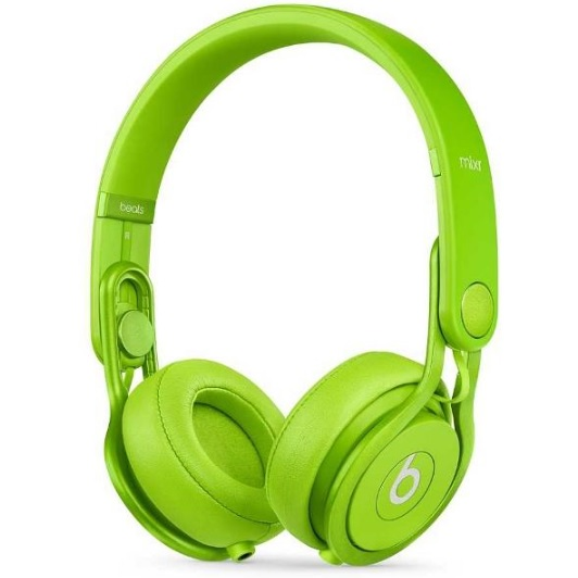 Beats by Dr. Dre Mixr オンイヤーヘッドフォン MHC62PA/A グリーン 【送料無料(沖縄県を除く)】