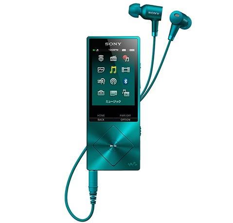 SONY ウォークマン NW-A25HN(L) ビリジアンブルー 16GB ハイレゾ対応 ノイズキャンセリング機能搭載イヤホン付属 【送料無料(沖縄県を除く)】
