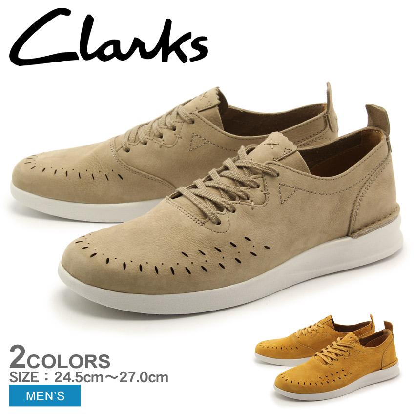 送料無料 クラークス ジャコビー ロー スニーカー 全2色(CLARKS JACOBEE LOW)レザー スニーカー コンフォート シューズ 靴メンズ 男性