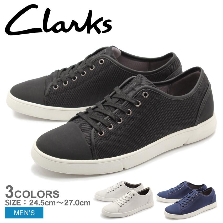 送料無料 クラークス CLARKS スニーカー ランダーキャップ 全3色(CLARKS 26124232 26124228 26124226 LANDER CAP)メンズ(男性用)