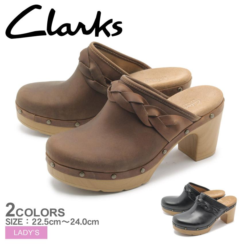 送料無料 クラークス CLARKS ヒールサンダル レディラ メグ 全2色(CLARKS 26124179 26124183 LEDELLA MEG)レディース(女性用) ブランド くらーくす 靴 天然皮革 本革