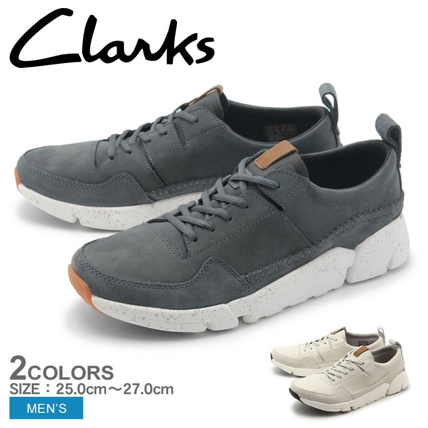 送料無料 CLARKS クラークス スニーカー シューズ メンズ 全2色トライ アクティブ ラン TRAI ACTIVE RUN26132275 26132277 10eg
