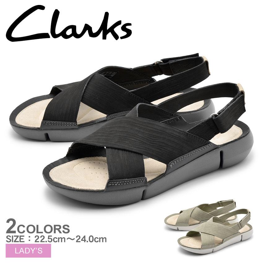 送料無料 CLARKS クラークス サンダル 全2色トライ クロエ TRI CHLOE26131278 26131276 レディース