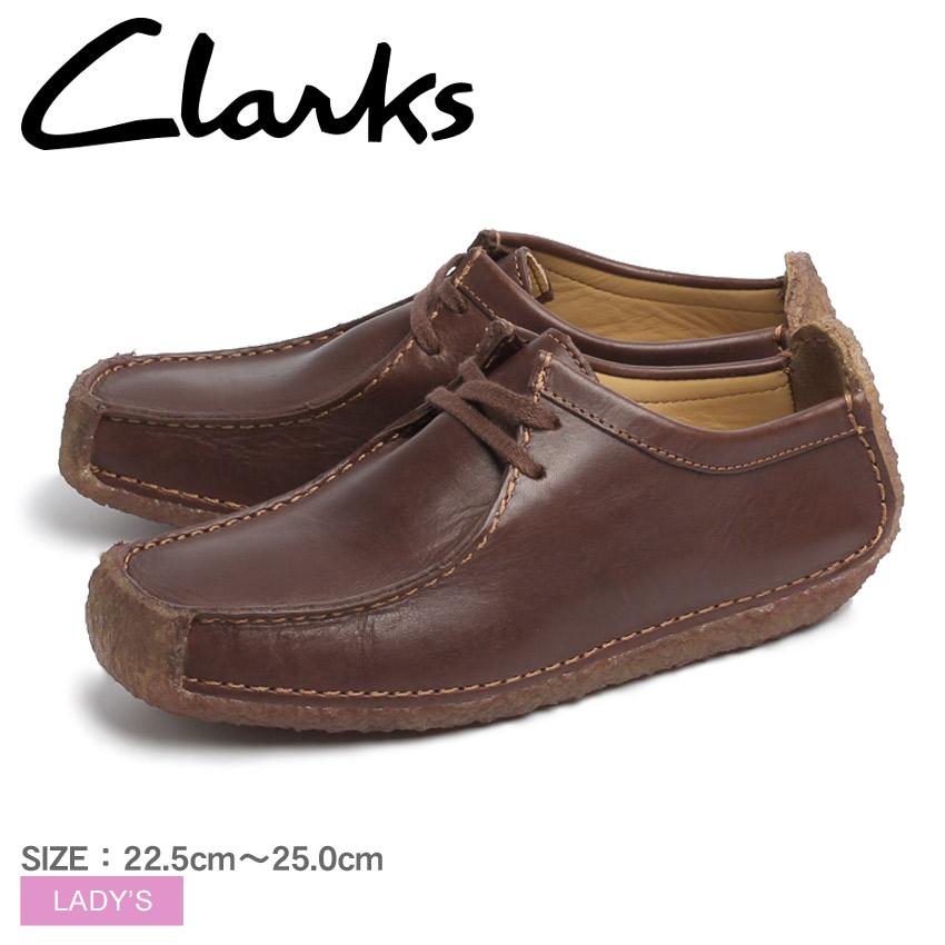 送料無料 クラークス CLARKS ナタリー チェスナット レザー UK規格(20319127 NATALIE) くらーくす レディース(女性用)本革 レザー カジュアルシューズ 靴