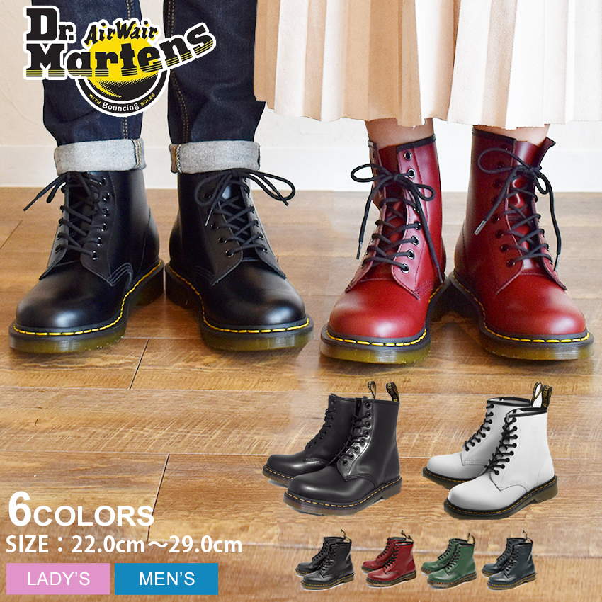 a1aea34b9bab z-craft  Doctor Martin 8 hall boots men gap Dis Dr.Martens 1460 black red  black red 8HOLE BOOT shoes shoes leather 11822006 UK5 UK6 UK7 UK8 UK9 UK10  ...