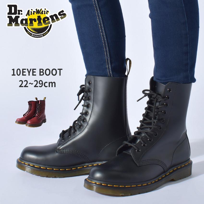 送料無料 ドクターマーチン(Dr.Martens) 10ホールブーツ 1490 全2色(DR.MARTENS R11857001 R11857600 10HOLE BOOT 1490) メンズ(男性用) カジュアル シューズ パンク ブーツ