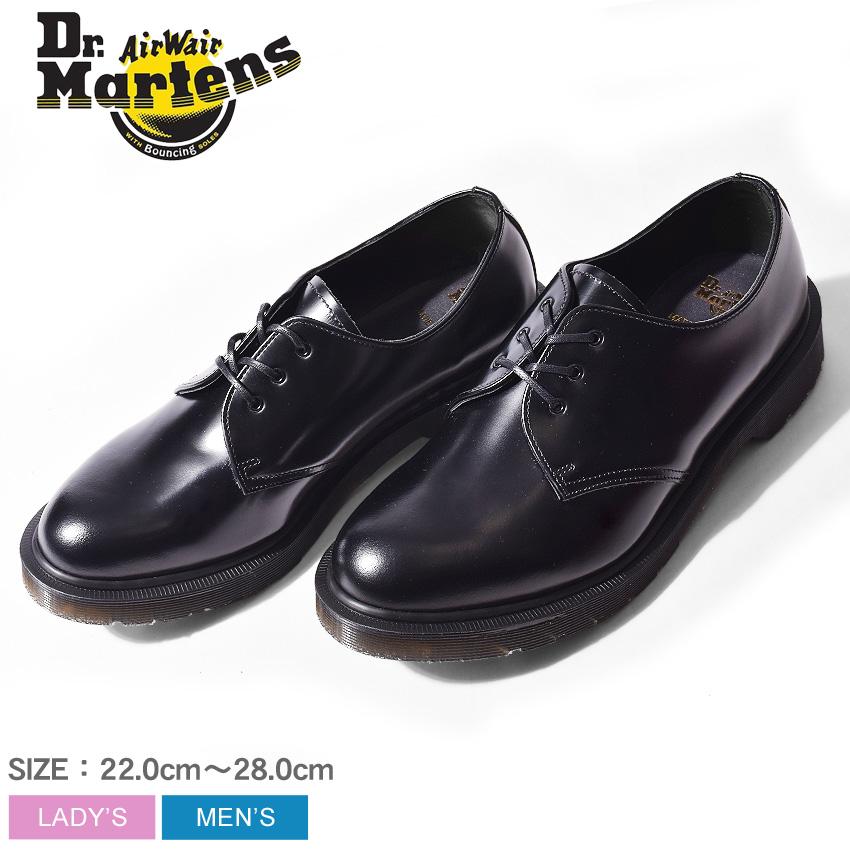 送料無料 DR.MARTENS ドクターマーチン 革靴 ブラック1461 MIE クラシック 3ホール シューズ 1461 MIE CLASSICS 3EYE SHOE16074001 メンズ