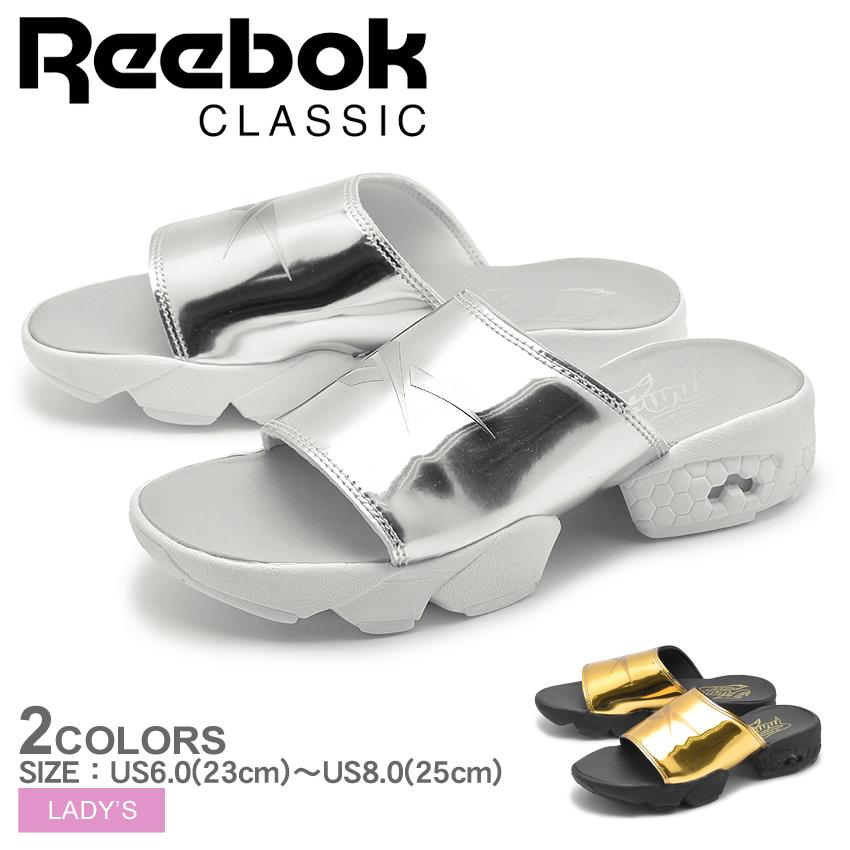 送料無料 リーボック クラシック REEBOK CLASSIC サンダル フューリー スライド マジック アワー 全2色FURY SLIDE MAGIC HOUR BD3188 BD3190シューズ 靴 カジュアルレディース[ワンバンド]