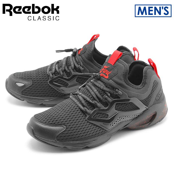 送料無料 リーボック クラシック REEBOK CLASSIC スニーカー フューリー アダプト AC ブラック×プライマルレッドFURY ADAPT AC BD3168シューズ 靴 カジュアルメンズ
