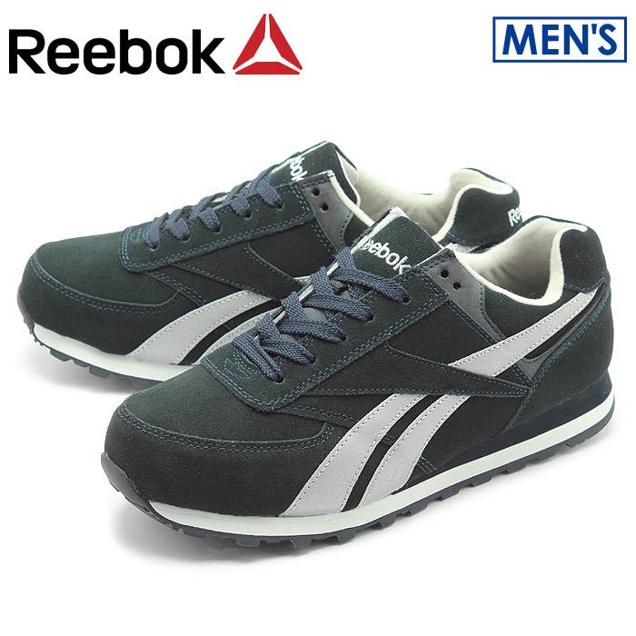 送料無料 リーボック ワーク REEBOK WORK スニーカー LEELAP ネイビーRB1975靴 安全靴 セーフティーシューズ ワークシューズ シューズメンズ