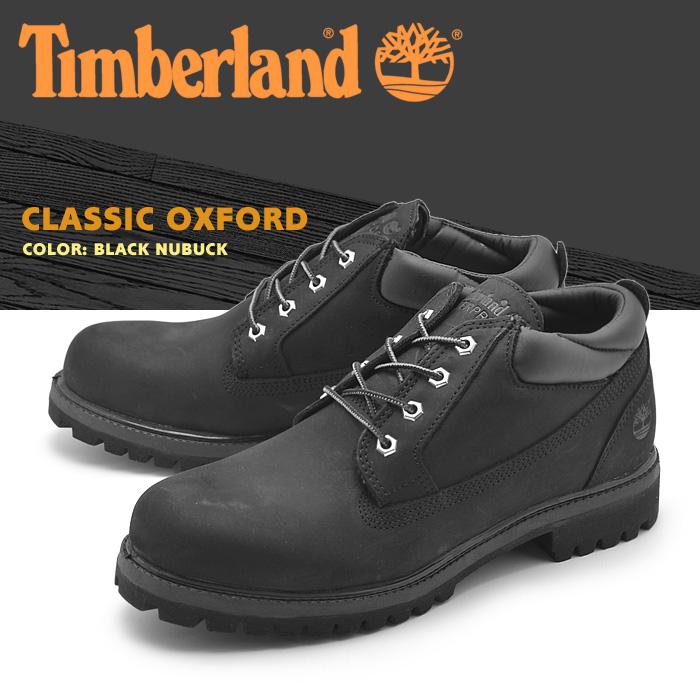 新発売 送料無料 ショート ティンバーランド (TIMBERLAND) 靴メンズ ブーツ クラシック オックスフォード 天然皮革 ブラックヌバック(73537 CLASSIC OXFORD)黒 ショート ミッドカット シューズ 天然皮革 ウォータープルーフ 靴メンズ, 御祝ギフトランド:c4244e25 --- wap.pingado.com