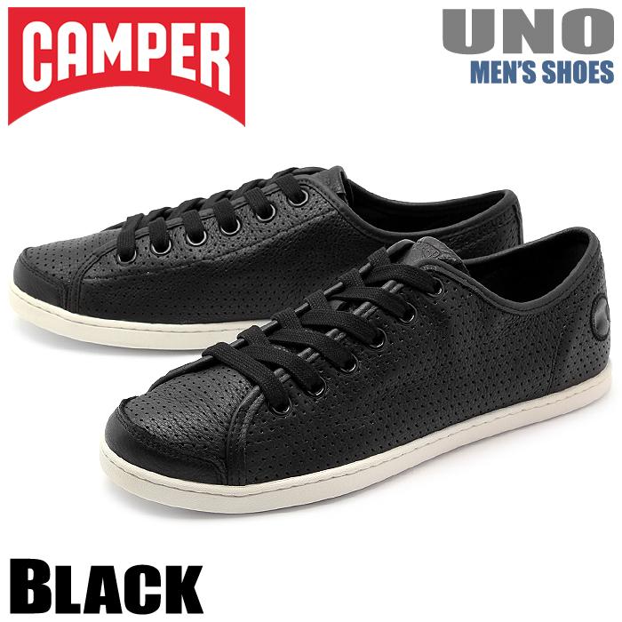 送料無料 カンペール(CAMPER) ウノ ブラック(CAMPER 18785 020 UNO)メンズ(男性用) 靴 シューズ カジュアル スニーカー ローカット レザー 天然皮革