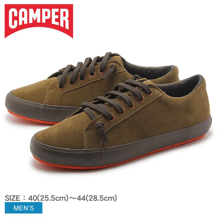 送料無料 カンペール(CAMPER) ポートル ブラウン スエード(CAMPER 18961 028 PORTOL)メンズ(男性用) 靴 シューズ カジュアル スニーカー ローカット 天然皮革 レザー