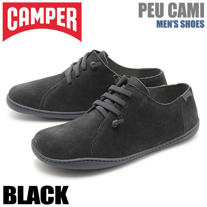 送料無料 カンペール(CAMPER) ペウ カミ ブラック(CAMPER 18736 037 PEU CAMI)メンズ(男性用) 靴 シューズ カジュアル スニーカー 天然皮革 ローカット