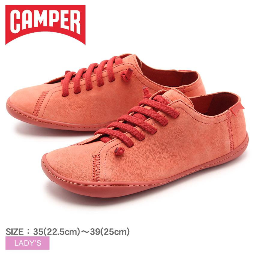 送料無料 カンペール(CAMPER) ペウ カミ ピンク(CAMPER 20848 108 PEU CAMI)レディース(女性用) 靴 シューズ カジュアル スニーカー 天然皮革 ローカット