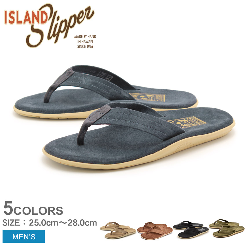 送料無料 ISLAND SLIPPER アイランドスリッパ サンダル 全5色アルティメイト スエード ULTIMATE SUEDEPT203SL メンズ