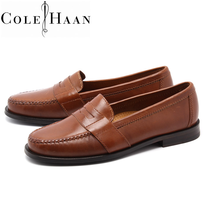 Cole Haan (COLE HAAN) Douglas loafers saddle Tan slip-on shoes (DOUGLAS COLE  HAAN 01462 LOAFER) (men) men's penny loafer slip-on casual business shoes