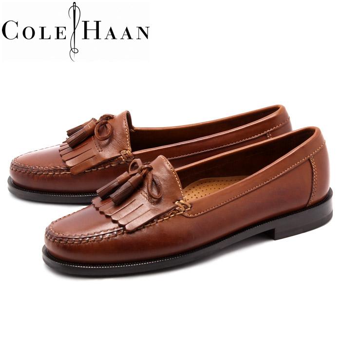 Cole Haan (COLE HAAN) Dwight loafers saddle Tan slip-on shoes (DWIGHT COLE  HAAN C01063 LOAFER) men's (men's) kilt tassel loafer slip-on