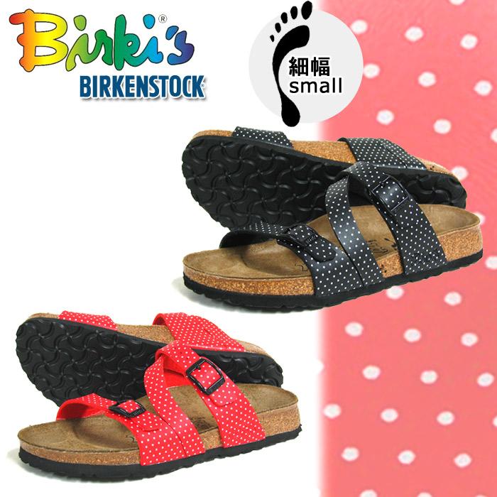 Bilkey (BIRKI's) (BIRKIS) polka dot Salina 2 colors BY Birkenstock vilken stuck (BIRKIS 357683 356053 SALINA BY BIRKENSTOCK) women's (women's) Sandals sale