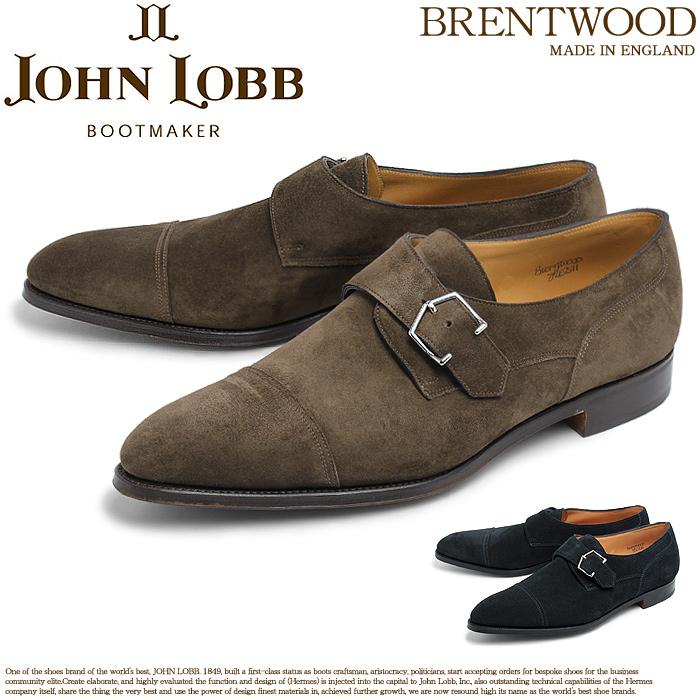 送料無料 ジョンロブ JOHN LOBB ブレントウッド SS モンク ストラップ シューズ ピューター 他全2色 2511 BRENTWOOD SS メンズ レザー シューズ スエード