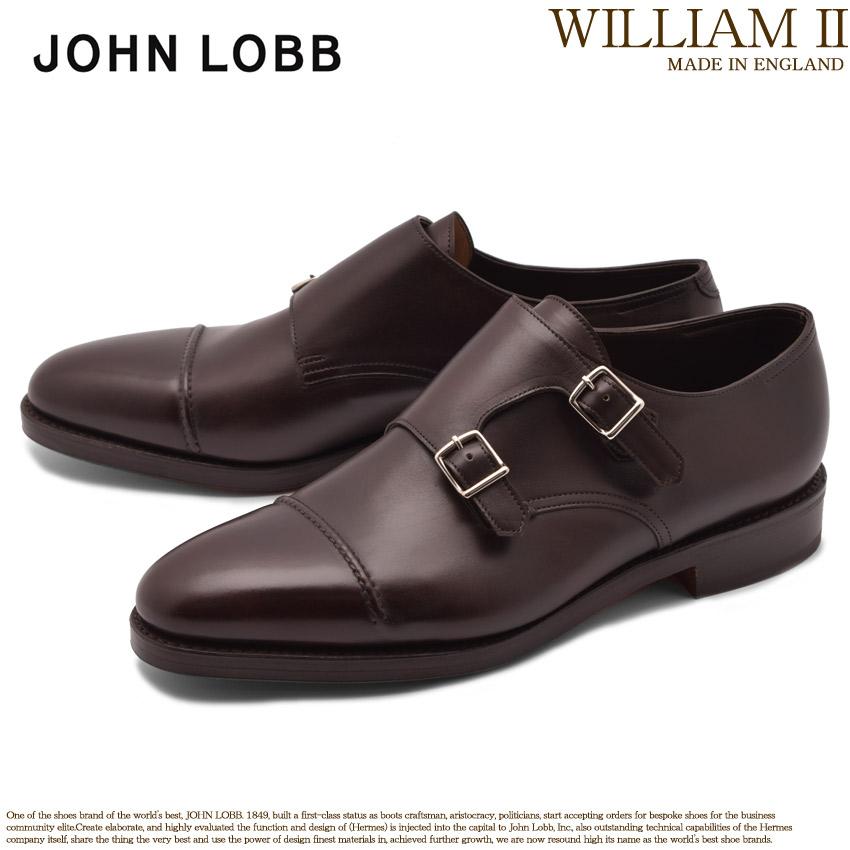 送料無料 JOHN LOBB ジョンロブ ドレスシューズ ブラウン ウィリアム 2 WILLIAM II 232192L 2Y メンズ ブランド フォーマル カジュアル ビジネス ベルト オフィス スーツ レザー 紳士靴 革 定番 革靴