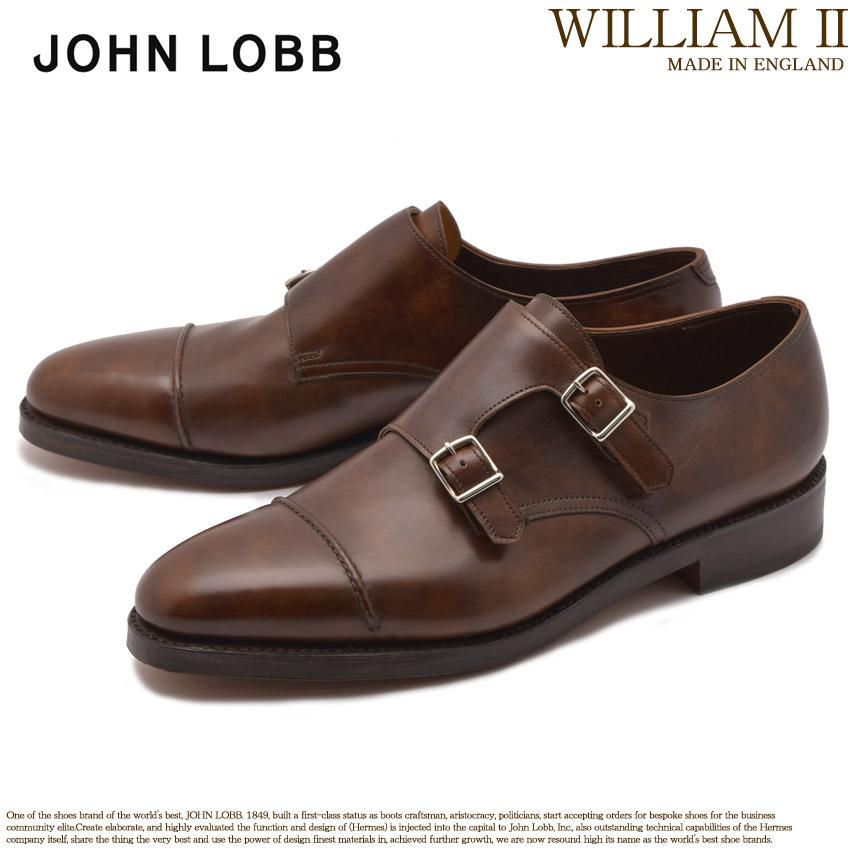 送料無料 JOHN LOBB ジョンロブ ドレスシューズ ブラウン ウィリアム 2 WILLIAM II 232192L 5P メンズ ブランド フォーマル カジュアル ビジネス ベルト オフィス スーツ レザー 紳士靴 革 定番 革靴