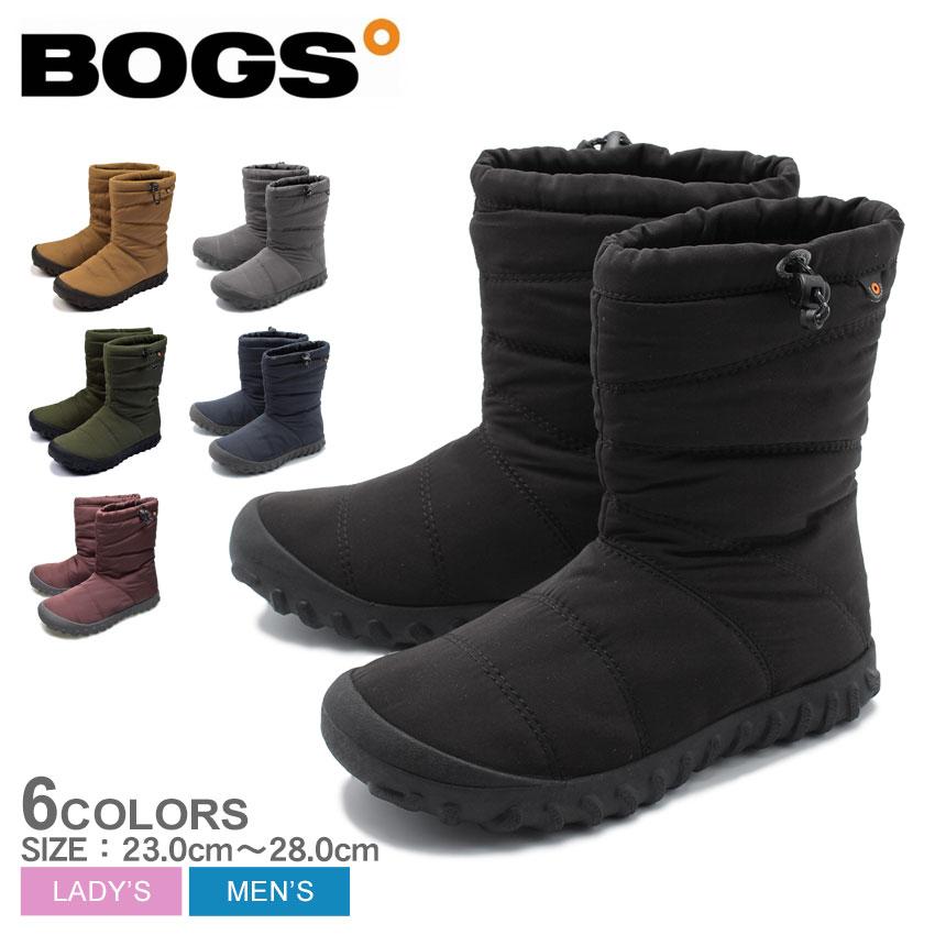 送料無料 ボグス BOGS スノーブーツB パフィー ミッド B PUFFY MID72241 001 011 511 432 メンズ レディース