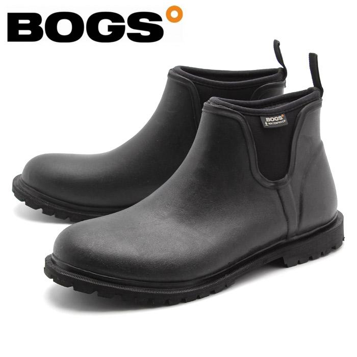 送料無料 ボグス BOGS レインブーツ カーソン ブラックbogs CARSON 71395-001 スノーブーツ ミッドカット 防水 防滑 保温 メンズ(男性用) [1216bogs]