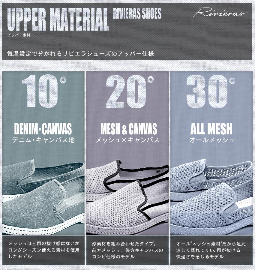 Riviera slip-on RIVIERAS 9201 20 ° c hot rod special mesh canvas espadrille shoes hot Road Tour de Monde (RIVIERAS 9201 20 ° HOTROD SPECIAL) mens (for men) and women (women) shoes Riviera rivieras