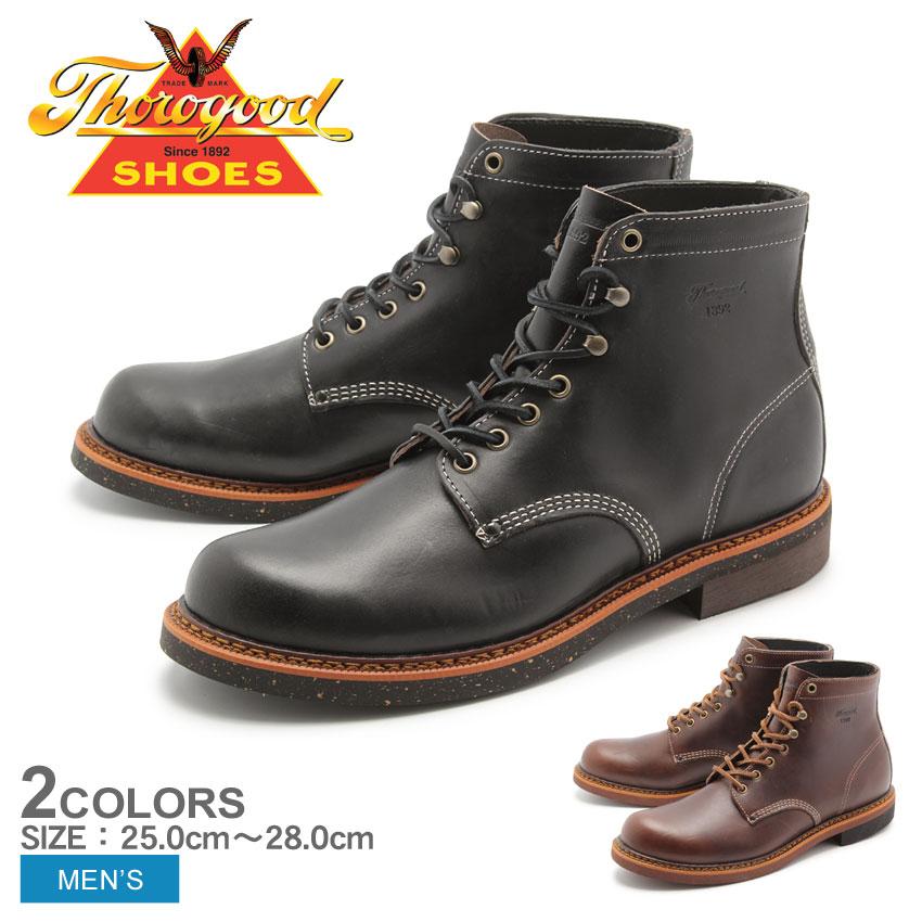 送料無料 ソログッド THOROGOOD ブーツ BELOIT ブラック 他全2色(THOROGOOD BELOIT 814-4532 814-6532)メンズ(男性用)靴 シューズ カジュアル レザー