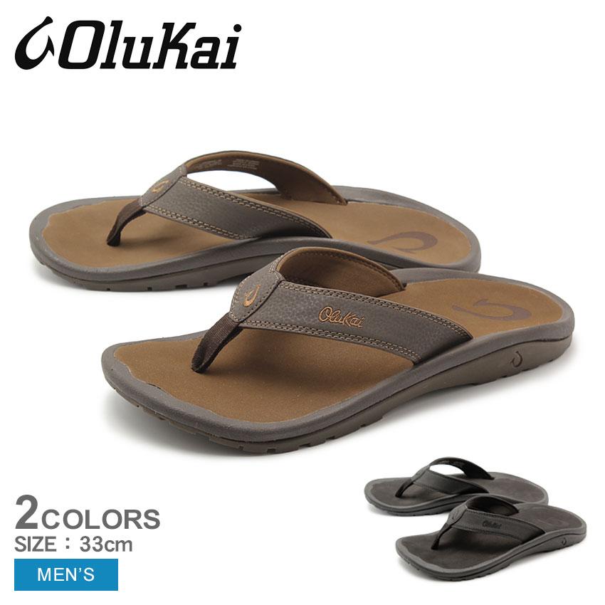 送料無料 OLUKAI オルカイ サンダル オハナ OHANA 10110 4040 4827 メンズ ビッグサイズ トングサンダル スリッパ ハワイ 靴 シューズ おしゃれ カジュアル シンプル
