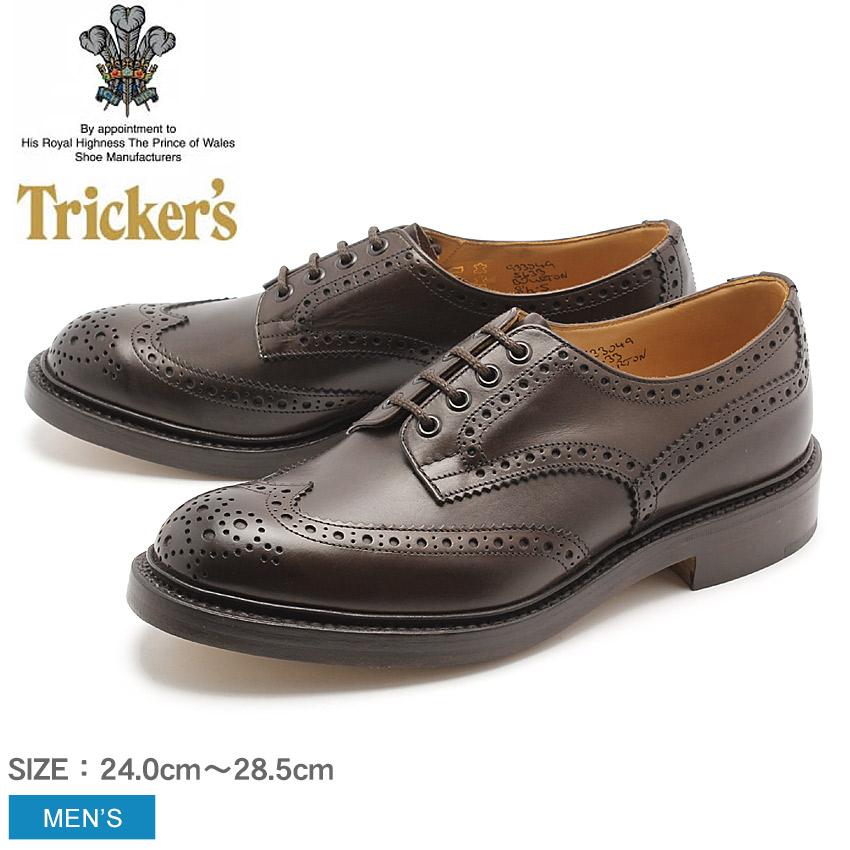 送料無料 トリッカーズ TRICKER'S カントリー バートン エスプレッソバーニッシュ ダブルレザーソール TRICKERS (TRICKER'S 5633 2 COUNTRY BOURTON) メンズ(男性用)