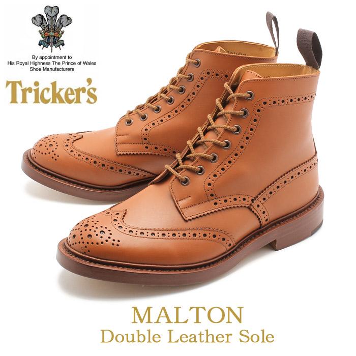 送料無料 トリッカーズ TRICKER'S マートン ダブルレザーソール タンCシェード TRICKERS (TRICKER'S 2508 MALTON) ブーツ カントリー メンズ(男性用)