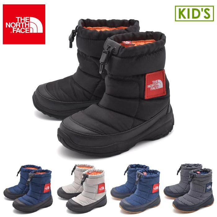 送料無料 ザ ノース フェイス THE NORTH FACE スノーブーツ ヌプシブーティーロゴウェア 全5色NFJ51782 KK NK GK DN HN Nuptse Bootie Logowearキッズ(子供用) 靴 ブランド 人気 シューズ アウトドア スポーツ 運動