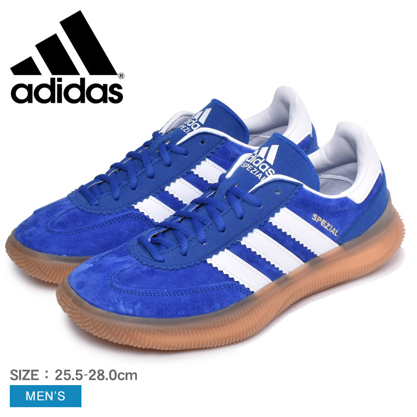 Model room sports shoes gymnasium blue for the introduction to ADIDAS  Adidas handball shoes blue HB スペツィアルブースト HB SPEZIAL BOOST EF0645 men  sneakers ...