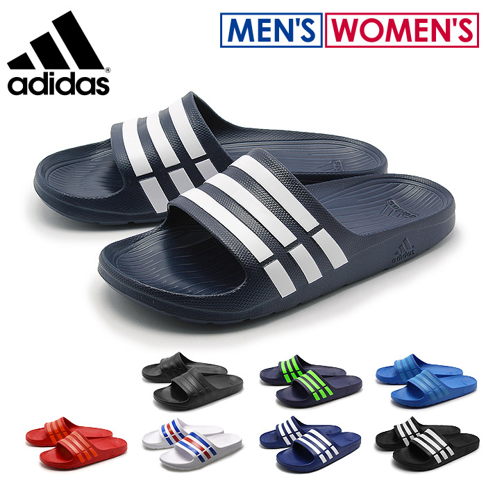 best sneakers 9af31 6d4cd Adidas adidas Sandals mens duramo slide all three colors (ADIDAS Duramo  Slide G15890 G15886 G14309) flip flops mens shower Sandals (for men)