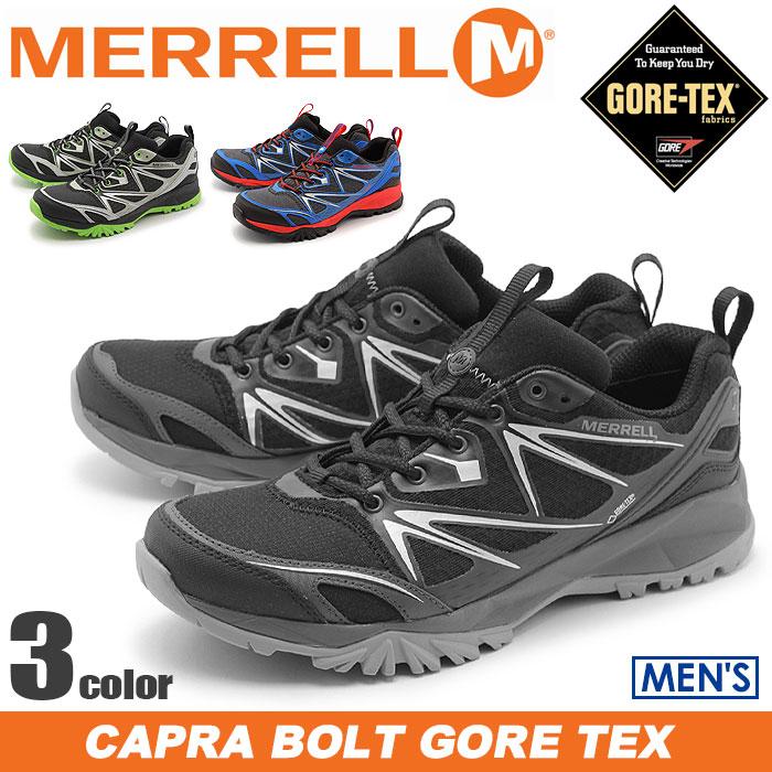 送料無料 メレル MERRELL カプラ ボルト ゴアテックス 全3色merrell J35371 J35379 J35373 CAPRA BOLT GORE TEXアウトドア シューズ 靴メンズ(男性用)