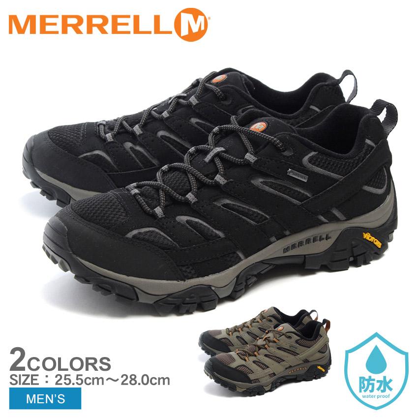 送料無料 メレル MERRELL カジュアルシューズ モアブ2 ゴアテックス 全2色(MERRELL J06035 J06037 MOAB 2 GORE-TEX)メンズ(男性用) 靴 シューズ アウトドア スポーツ 運動