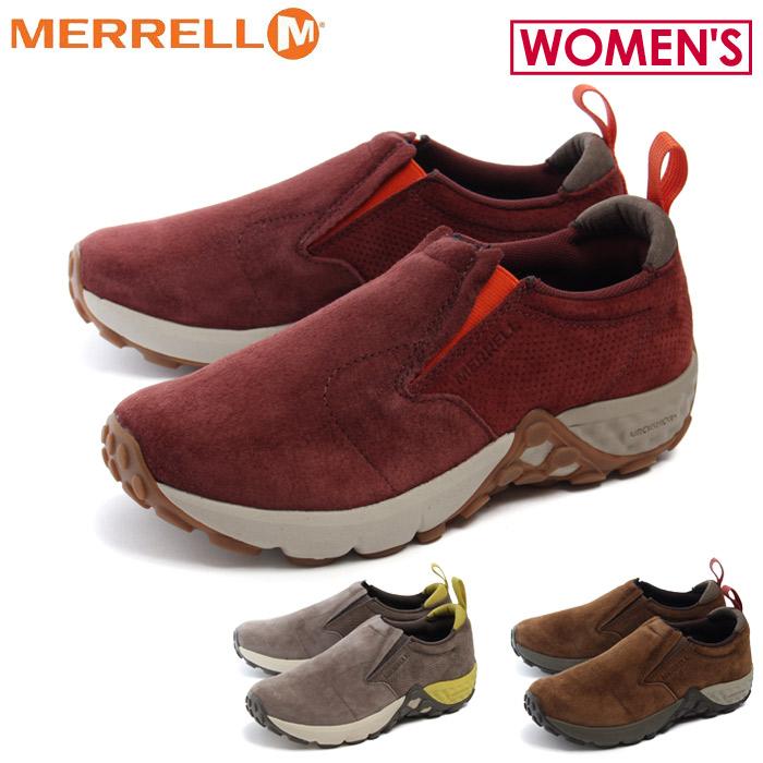 送料無料 メレル MERRELL カジュアルシューズ ジャングル モック エーシープラス 全3色(MERRELL J45934 J45752 J45748 JUNGLE MOC AC+)レディース(女性用) 靴 シューズ アウトドア スポーツ 運動